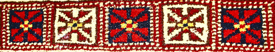 Khalkebegi British Flag pattern