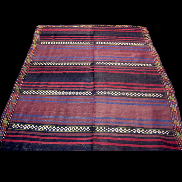 Semi-Antique_Baluch_Bi_Panel_Kilim_Kont